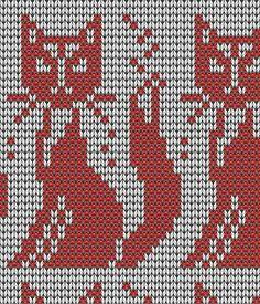 Cat for charting Mochila Crochet, Bag Crochet, Crochet Chart, Filet Crochet, Knitting Charts, Knitting Stitches, Knitting Patterns, Crochet Patterns, Cat Quilt Patterns