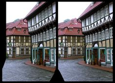 Stolberg in the Harz Mountains 3D ::: DRi HDR by RAW Crosseye Stereoscopy