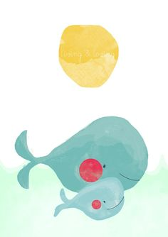 On est en amour avec cette illustration joviale et amusante! Et vous?