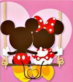 Retro Disney, Cute Disney, Disney Art, Walt Disney, Mickey E Minnie Mouse, Mickey And Minnie Love, Mickey Mouse And Friends, Mickey Mouse Wallpaper, Disney Wallpaper