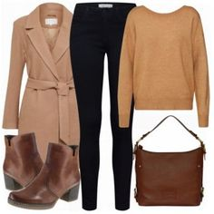 Beige Damen Outfit - Komplettes Business Outfit günstig kaufen | FrauenOutfits.de Beige Outfit, Komplette Outfits, Business Outfits, Polyvore, Fashion, Women's, Moda, Fashion Styles, Business Wear