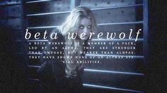 Beta werewolf