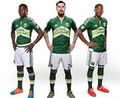 Portland Timbers 2015 adidas Home Soccer Jersey de0dbb395bc3