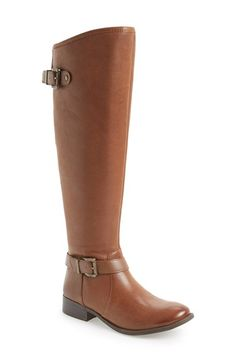Free shipping and returns on Jessica Simpson 'Rinne' Riding Boot (Women) at Nordstrom.com. Belted straps detail the smooth shaft of a smart riding boot set on a low, stacked heel.