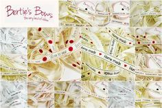 Bertie s Bows Handmade Themed Ribbons - 15 themes - Grosgrain Cut Length 3 FOR 2