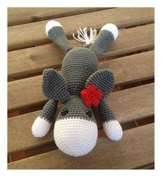 free donkey crochet / about tall // Amigurumi Crochet pattern donkey Always aspired to be able to knit, nonetheless undecided the place to begin? This specific Utter . Crochet Toys, Crochet Baby, Knit Crochet, Crochet Stitches, Poncho Knitting Patterns, Crochet Patterns, Chain Stitch, Diy And Crafts, Crafty