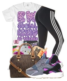beda208616d8de by ray-royals ❤ liked on Polyvore featuring adidas Originals and NIKE