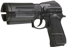 Off World Manufacturing Co.  Mfg. REC Beretta Blaster airsoft, from the movie  The Time Cop