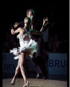 Riccardo and Yulia... A FEAST TO THE EYE.... ARTISTRY IN MOTION....