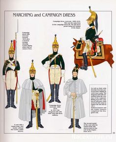 French; Imperial Guard, Dragoon(The Empress' Dragoons) Regt, Dragoons, Tenue de Route & Tenue de Campagne