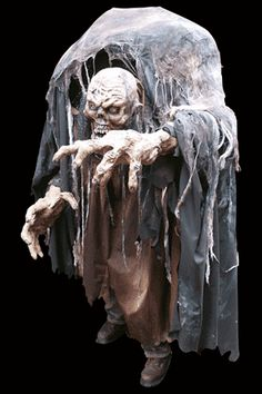 gore galore zombie lurker giant oversized hump backed costume haunted house prop halloween