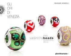 VALENTINA BEADS New collections Murano Glass Beads by Gli Ori di Venezia. www.glioridivenezia.it