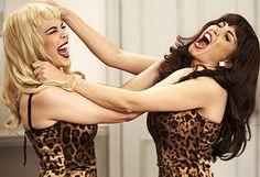 Kylie Vs Danii Cat Fight