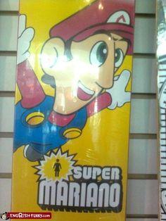 Super #Trademark #Infringement #Nintindo #Mario #Gamer #TooMuch