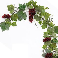 Wine box floral grapes centerpiece wine wedding ideas for Artificial grape vines decoration
