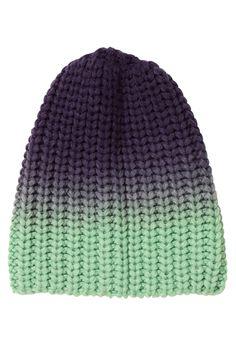 Greta Hat, in jungle pear green/nightfall blue