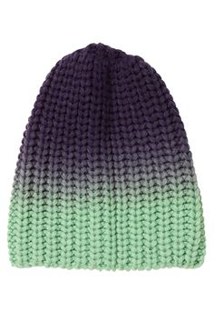 ombre hat.