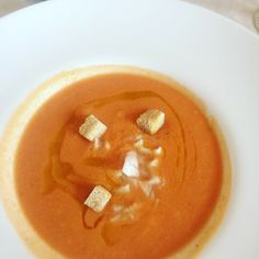 Gazpacho Andaluz from  Duquesa de Parcent restaurant in Ronda