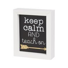 Keep Calm - Teacher's Gift | Driftwood Market