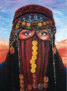 Bedouin Woman by Fred Verzosa (Painter)