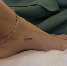 Amor Tattoo, Tattoo P, Nail Tattoo, Piercing Tattoo, Piercings, Dainty Tattoos, Symbolic Tattoos, Mini Tattoos, Small Tattoos