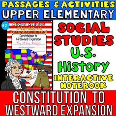 Social Studies Interactive Notebook... I am offering this notebook #2 in a bundled pack with other social studies notebook packs at a reduced price. You can get my notebooks 1 and 2 that have 34 passages PLUS you will get my interactive maps and globes notebook activities and my government notebook activities.