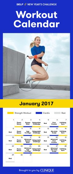 Kick off a strong, fit, and healthy 2017 with our New Year's Challenge! We'll provide a four-week fitness plan that tells you exactly what to do every week. Think of it as your road map to a healthier, happier you. Let's make your New Year's resolutions happen together!