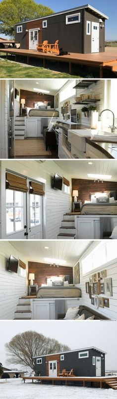Container House - Wandering On Wheels tiny house - Who Else Wants Simple Step-By-Step Plans To Design And Build A Container Home From Scratch? Tiny House Plans, Tiny House On Wheels, Building A Container Home, Tiny House Movement, Tiny Spaces, Tiny House Living, Tiny House Design, Small Space Living, Little Houses