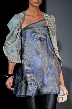 Giorgio Armani at Milan Fashion Week Spring 2012