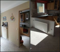 Another completed project.  We'll be returning in a couple of months to remove kitchen and prepare area for a new one.  Owner happy that she no longer has to shout through to the kids.  Bet she still does :)