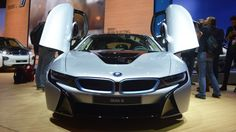 Gizmag has been following the development of BMW's forward looking i8 plug-in hybrid for years. Now the fruits of that development labor have been revealed at the 2013 Frankfurt Motor Show with BMW finally de-cloaking the production version of the i8.