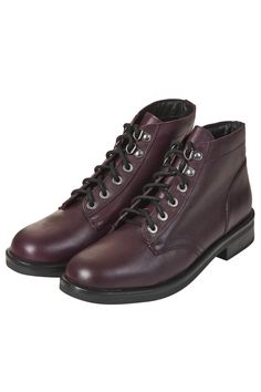 Photo 3 of ALPHA Lace Up Leather Boots