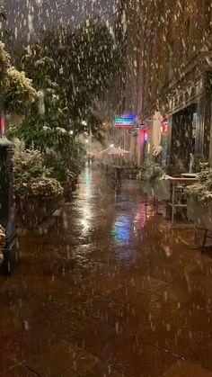 Aesthetic Photography Nature, Rain Photography, Nature Aesthetic, Aesthetic Movies, Winter Photography, Beautiful Nature Scenes, Beautiful Photos Of Nature, Beautiful Places To Travel, Beautiful Landscape Wallpaper