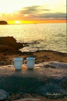 Hey, I found this really awesome Etsy listing at https://www.etsy.com/listing/171642774/coffee-at-sunrise-poipu-point-kauai-11-x
