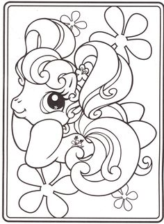 my-little-pony-coloring-pages-18 | par Coloringpagesforkids