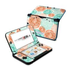 Nintendo 3DS XL Skin - Flourish by Brooke Boothe | DecalGirl