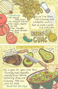 They Draw & Cook -  107 Recipes Illustrated from Artists from Around the World