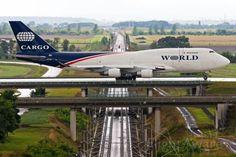 WOA Boeing 747-400 (N741WA) at EDDP, Leipzig/Halle Airport, Germany