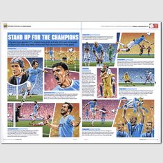 Man City Premier League Champions picture story http://www.thefootballartist.com/section694065.html#photos_id=13410607
