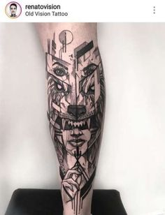 Tattoo Wolf Leg Black Ideen - Famous Last Words Wolf Tattoo Sleeve, Leg Tattoo Men, Sleeve Tattoos For Women, Tattoo Sleeve Designs, Tattoo Designs Men, Wolf Tattoos, Forarm Tattoos, Leg Tattoos, Body Art Tattoos
