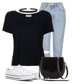 """More Converse"" by ashleydawn2 ❤ liked on Polyvore featuring Topshop, Frame Denim, Converse, Rebecca Minkoff, Humble Chic, Belk & Co. and converse"
