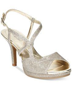 acccb95a83d Bandolino Swain Evening Sandals Strappy Heels