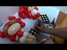 氣球眼睛畫法 how to draw the eyes on balloon - YouTube