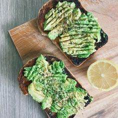 """naturallyessie: """"can't go wrong with avo on (overly) toasted sourdough The past couple of days I've been testing out this spelt sourdough bread to see if I can tolerate it even though it contains..."""