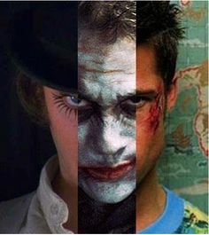 clockwork/dark knight/fight club