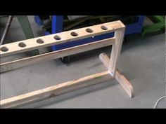 ▶ WOODWORKING PROJECTS SE1 EP8 ,FISHING ROD RACK .VERSION 2 - YouTube