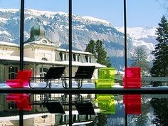 Delight Spa & Beauty at the beautiful Waldhaus Flims. http://www.powderbyrne.com/ski/flims/waldhaus