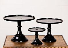 10″/12″Black Cake Stand