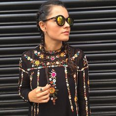 We  Glamhiver @thetrendyhub's #londonfashionweek look. It makes us wanna shop it and earn gift cards.  See More Style Inspiration at http://glamhive.com Download the iPhone App at: http://apple.co/1PYWhtu Shop every look you love in one quick click. Earn for shopping and for sharing.