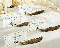 weddingstar classic round place card holders brushed gold set of 8 place card favors and table numbers